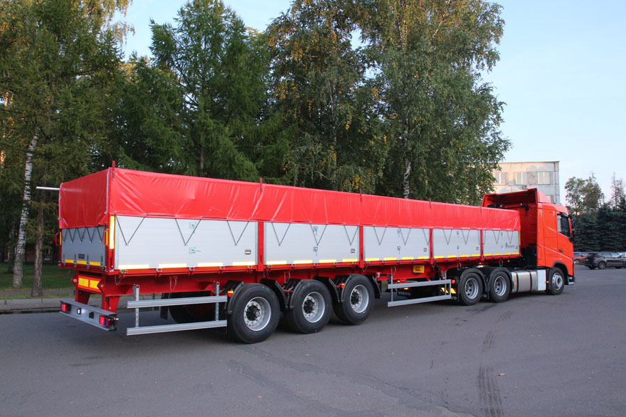 BCM-190 farm dump semi-trailer