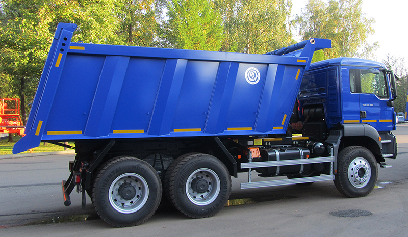 BCM-57.6N ISTRA dump truck for inert materials