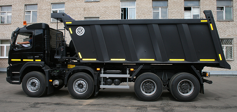 BCM-51.1SN ISTRA dump truck for inert materials