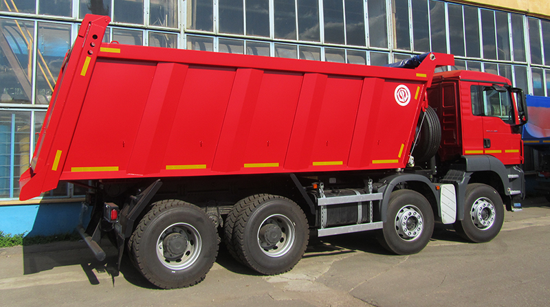 BCM-59.3N ISTRA dump truck for inert materials