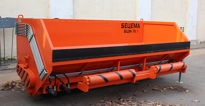 BCM-70.1 aggregate spreader for coated chippings