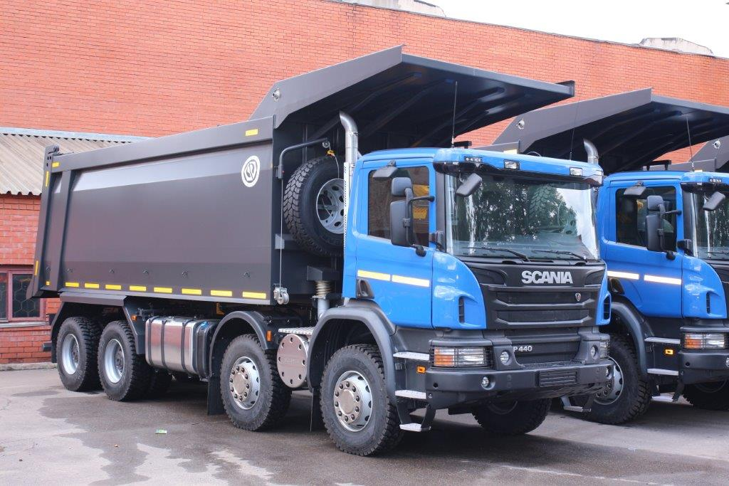 BCM-51 dump truck for coal transportation