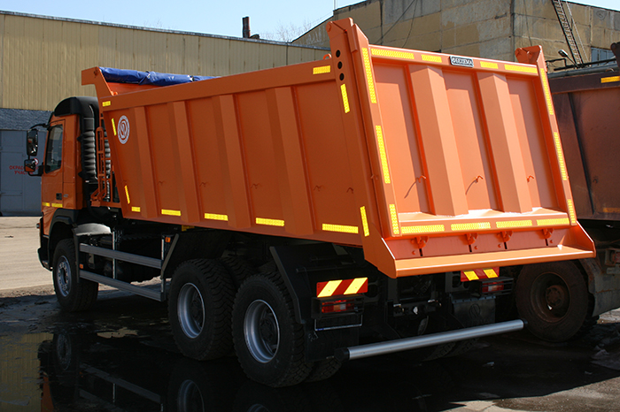 BCM-52.2SN ISTRA dump truck for inert materials