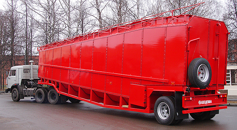Semi-trailer for BCM-104