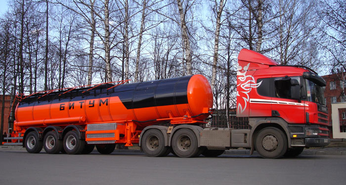 BCM-111 tank semi-trailer for dark petroleum products
