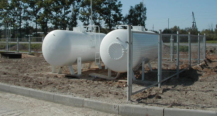 BCM-98 tank for LNG