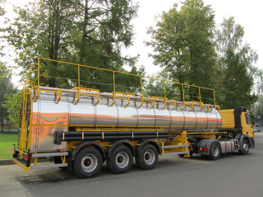 BCM-140 tank semi-trailer for liquid foodstuff