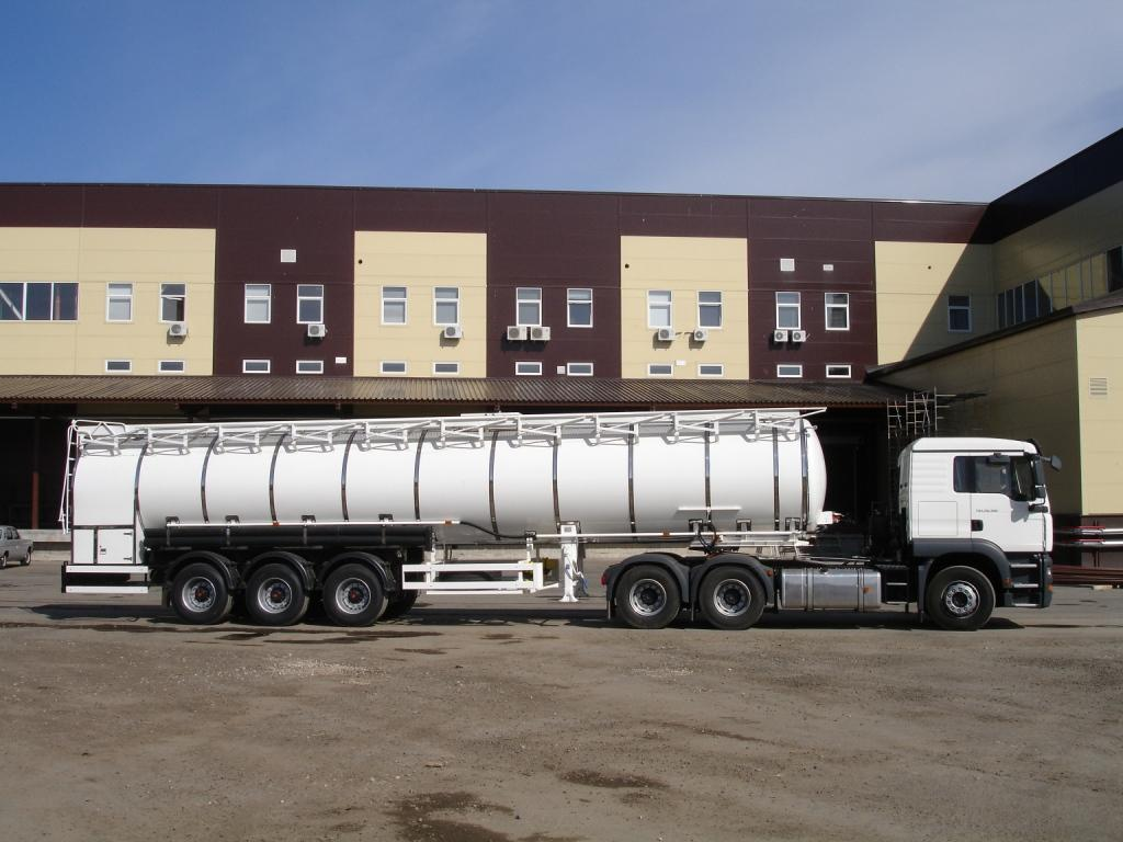 BCM-145 tank semi-trailer for liquid foodstuff