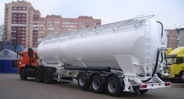 BCM-55.1 tank semi-trailer for polypropylene