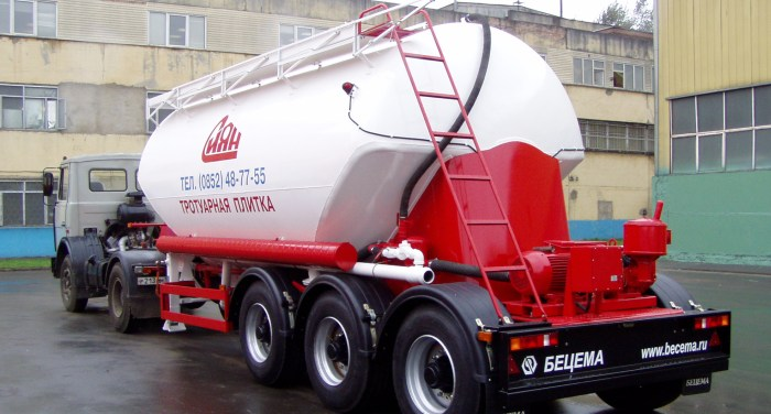 TC-21.1 dry bulk tank semi-trailer