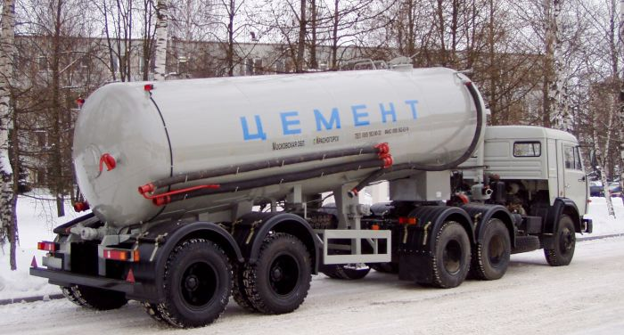 TC-12 dry bulk tank semi-trailer