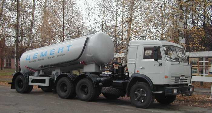 TC-15 dry bulk tank semi-trailer