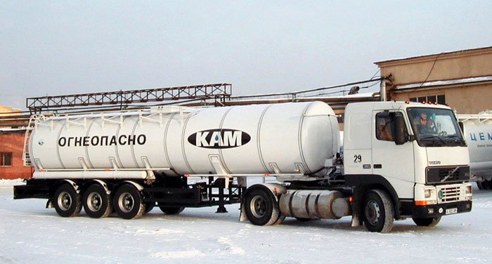 BCM-14.1.1 tank semi-trailer for dark petroleum products