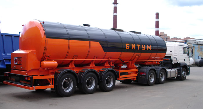 BCM-14.5 tank semi-trailer for dark petroleum products