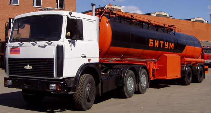 BCM-96042 tank semi-trailer for dark petroleum products