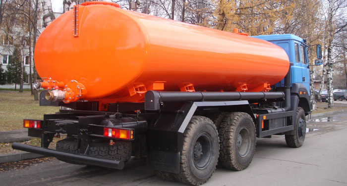 BCM-181.1 vacuum truck on URAL-63685 chassis