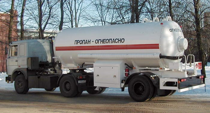BCM-74 tank semi-trailer for LNG