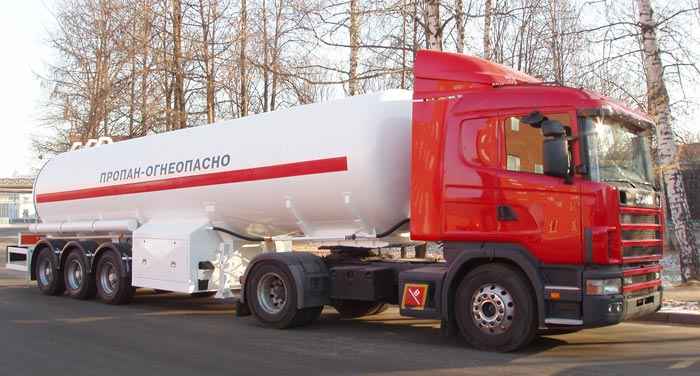 BCM-75.1 tank semi-trailer for LNG