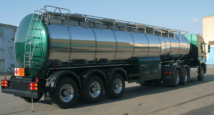 BCM-42.3 tank semi-trailer for liquid foodstuff