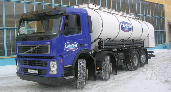 BCM-139 tanker truck for liquid foodstuff