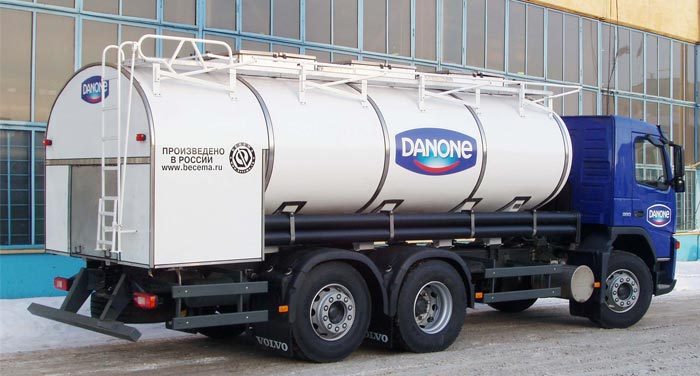 BCM-138 tanker truck for liquid foodstuff
